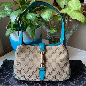 Gucci Mini Jackie O Hobo Bag 💙💙💙